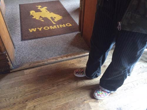 A bit of Wyoming in the bar