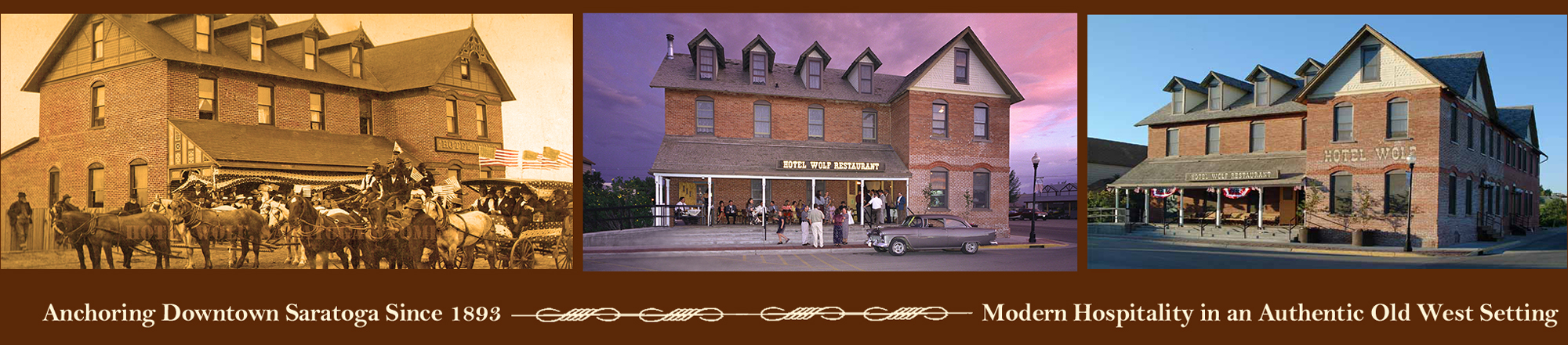 home page header Wolf Hotel