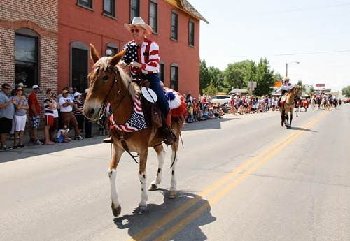 Saratoga Annual 4th of July Parade
